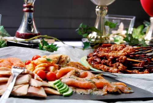 Foto einer Essensplatte im Erlebnisbistro