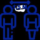 Icon für Abstandsregelung